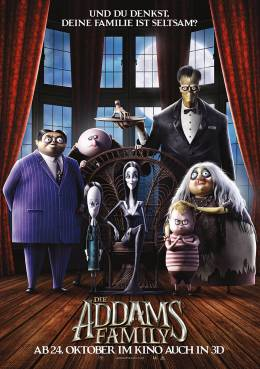 DIE ADDAMS FAMILY (3D) Poster