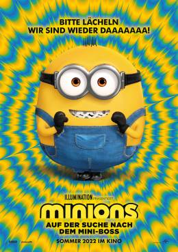 MINIONS – AUF DER SUCHE NACH DEM MINI-BOSS (3D) Poster