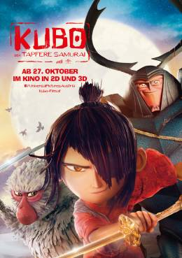 KUBO – DER TAPFERE SAMURAI (3D) Poster