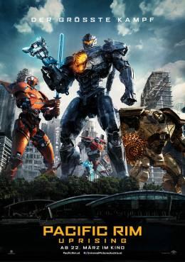 PACIFIC RIM: UPRISING (3D) (IMAX) Poster