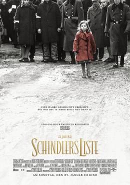 25 JAHRE: SCHINDLERS LISTE (Holocaust Gedenktag) Poster