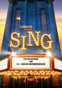 SING (3D) Poster
