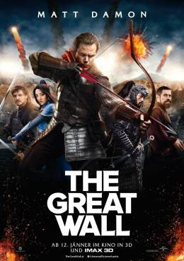 THE GREAT WALL (3D) Poster