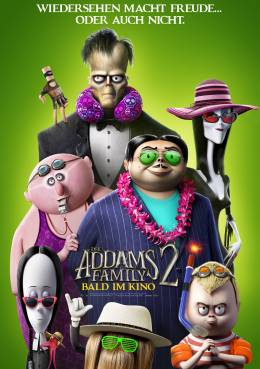 DIE ADDAMS FAMILY 2 Poster