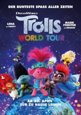 TROLLS WORLD TOUR (3D) Poster